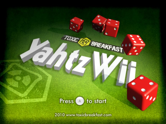 Yahtzwii title screen.jpg