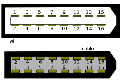 Wii av connector and cable.png
