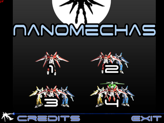 NanoMechas v0.5 screenshot