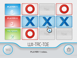 Wii-Tac-Toe screenshot